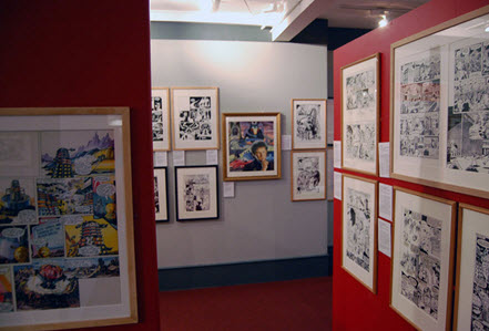 Gallery in the Cartoon Museum