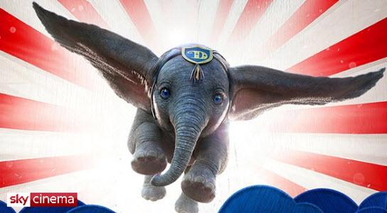 Sky Tv Dumbo banner
