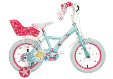 mermaid kids bike