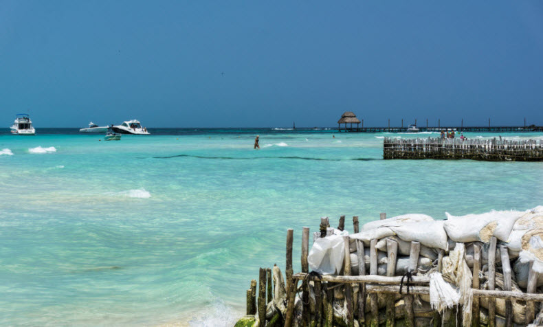 Isle Mujeres in Cancun