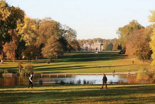 A view of Kensington Gardens