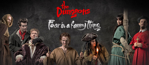The London Dungeons banner