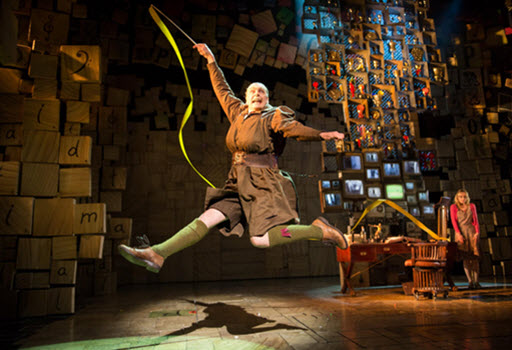 Matilda West End show