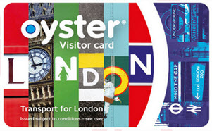 London Visitor Oyster Card