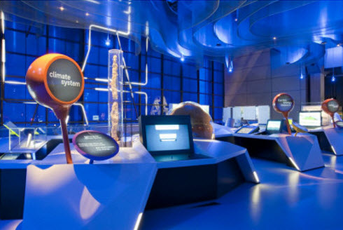 Climate system attraction at the Science Museum