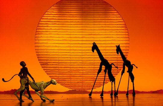 The Lion King West End show