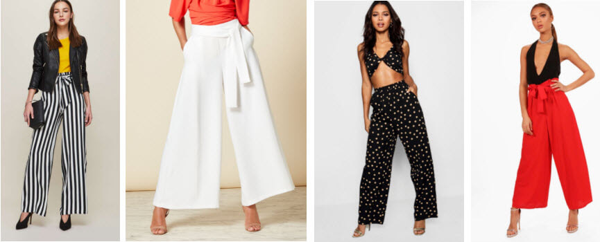 Spring Fashion Trends Wide Leg Trousers