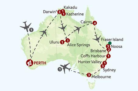 Grand Tour of Australia Titan Travels
