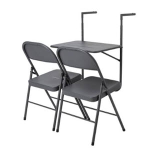 Argos Home Space Saving Balcony Bistro Set
