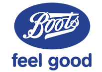 Boots feel good logo