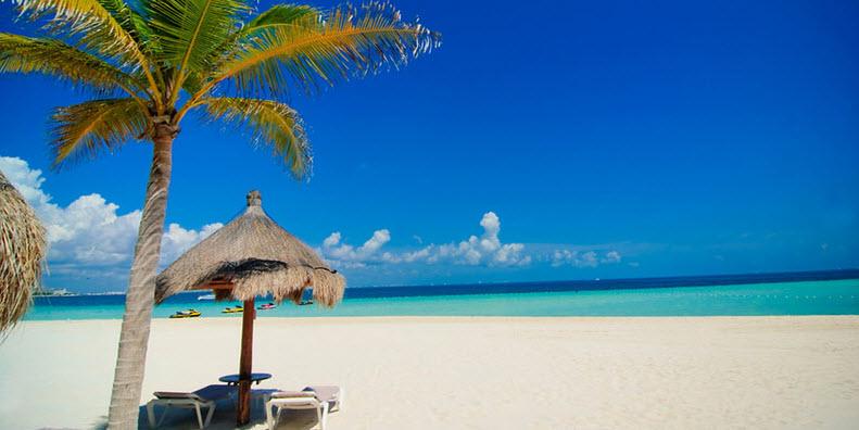 Cancun Mexico coastline