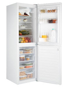Candy fridge freezer from Argos