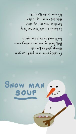 ... Fillers – How to Make Snowman Poop, Reindeer Food and Snowman Soup