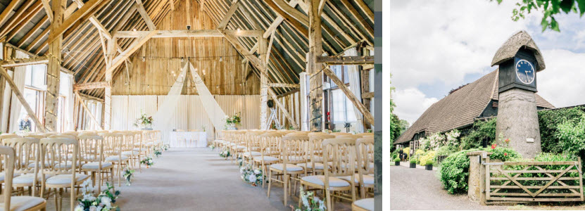 Clock Barn Wedding venue Winchester