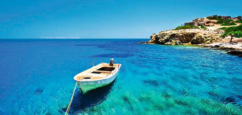 Sea in Crete