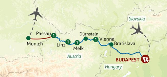 Titan Travels Danube river cruise