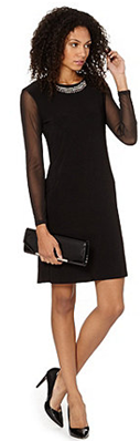 Debenhams black dress