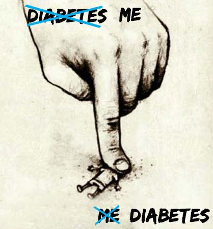 Crush your diabetes, don't let it crush you!