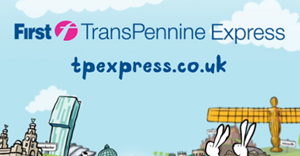 First TransPennine Express train service logo