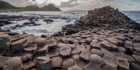 view of giants causeway