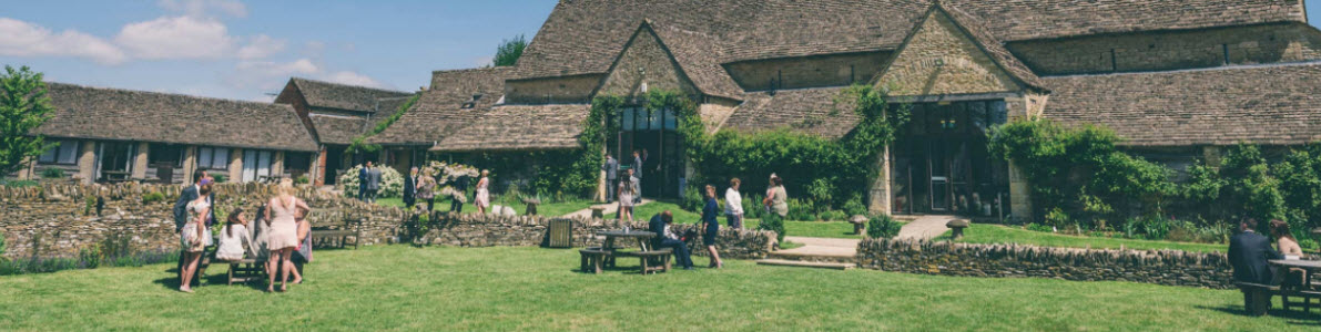 Great Tythe Barn Tetbury Wedding Venue
