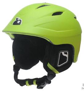 green icon helmet
