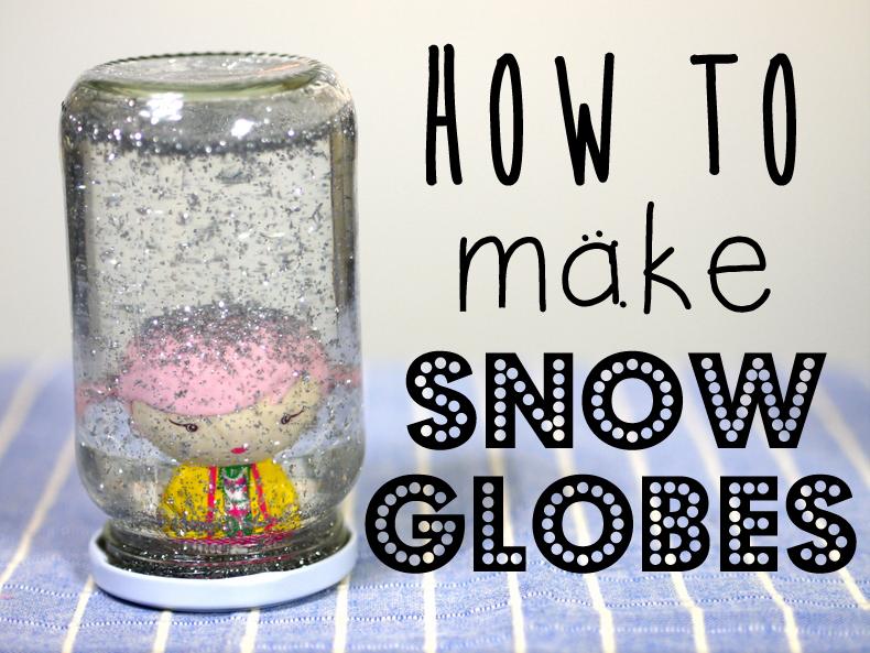 how to make snow globes. Black Bedroom Furniture Sets. Home Design Ideas