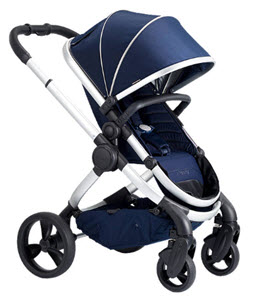 iCandy Peach Satin Pushchair and Carrycot