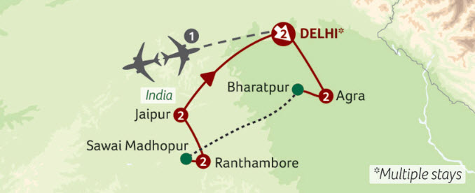 India's golden triangle with Titan Travel