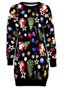 Christmas jumper dress