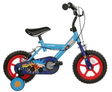 monster truck kids bike