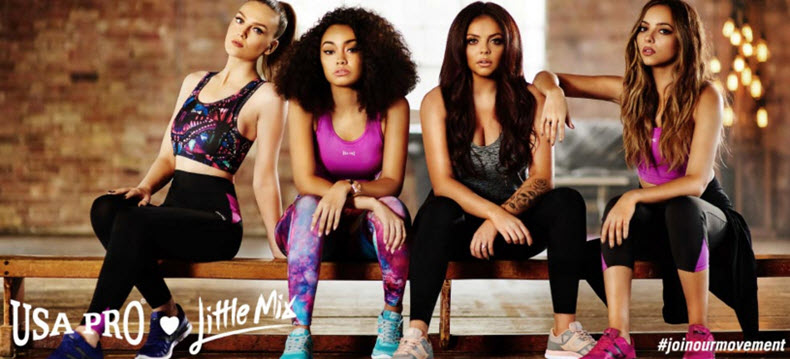 Little Mix for USA Pro Sports Direct