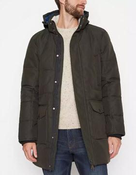 olive mantaray coat
