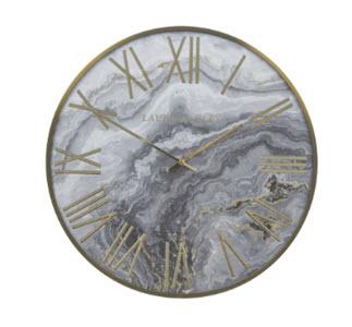 Animalia Gold Foiled Clock from Laura Ashley