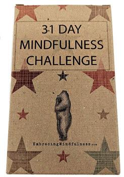 31 mindfulness cards