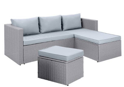 Argos Home Mini Corner Sofa Set