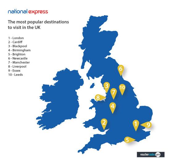 National Express cashback can be earned simply by clicking through to the merchant and shopping as normal. National Express Cashback is available through TopCashback on genuine, tracked transactions completed immediately and wholly online.