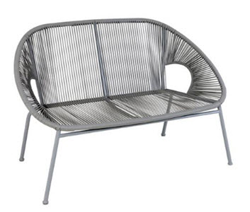 Argos Home Nordic Spring Two Seater Bench