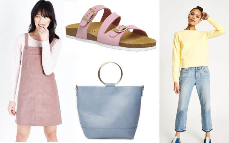 Spring Fashion Pastel Colours