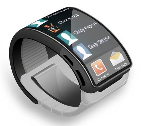 Samsung Watch Front Screen