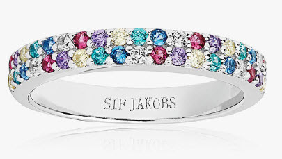 Sif Jakobs Cubic Zirconia Band from John Lewis