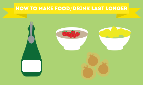 How to Make Food/Drink Last Longer