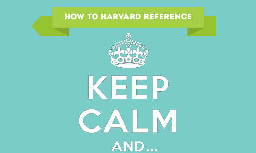 How to Harvard Reference