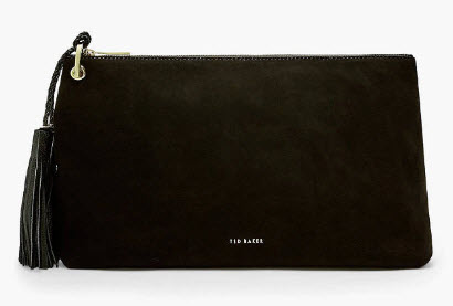 Ted Baker Deseree Leather clutch bag
