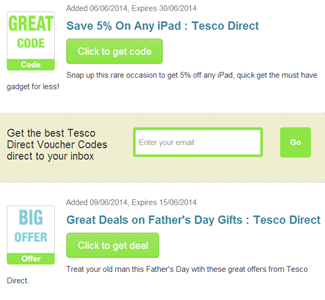 Deals direct code