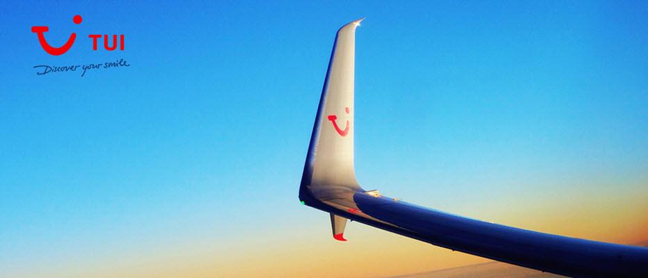 tui plane wing