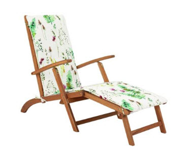 Argos Home Steamer Chair with Moorland Pattern