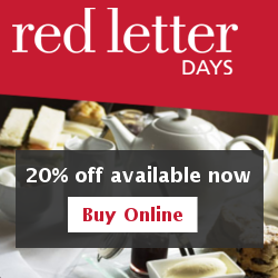 Red Letter Days 20% off RHS